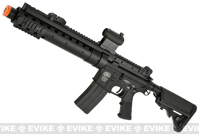 Evike Custom Class I G&P M4 Airsoft AEG Rifle - SPR Carbine (Package: Add Battery + Charger)
