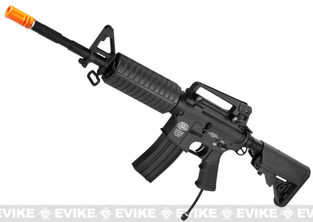 Evike Class II Custom G&P PolarStar M4 Carbine Electro-Pneumatic Airsoft Rifle - Black