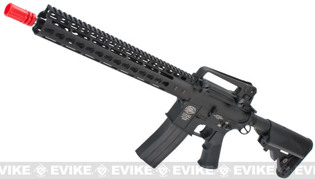 Evike Custom Class I G&P M4 Airsoft AEG Rifle - Noveske 13.5 Keymod (Package: Gun Only)