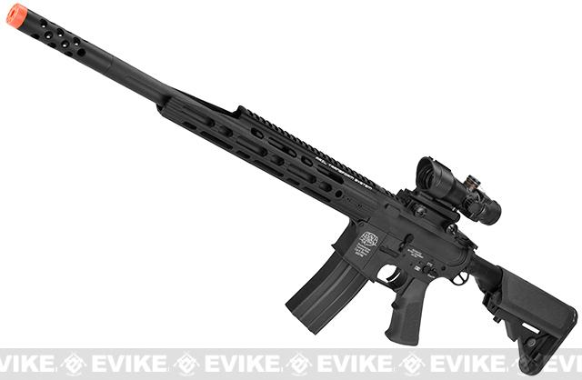 Pre-Order ETA February 2018 Evike Custom Class I G&P Guardian M4 Full Metal Airsoft AEG Rifle (Color: Black)