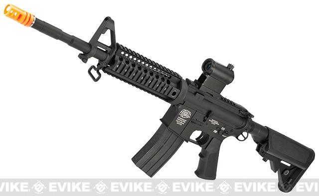 Evike Class I Custom G&P M4 Stealth Series Airsoft AEG Rifle - 7 (Package: Rifle)