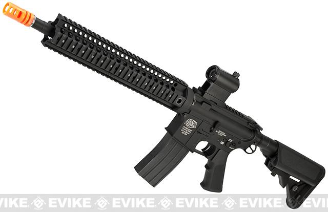 Evike Class I Custom G&P M4 Stealth Series Airsoft AEG Rifle - 12 (Package: Add Battery + Charger)