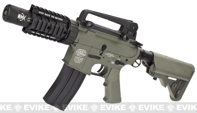 Evike Custom Class I G&P M4 Airsoft AEG Rifle - Stubby Killer (Package: Foliage / Gun Only)