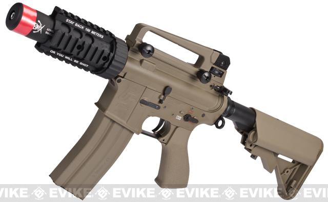 Pre-Order ETA June 2018 Evike Class I Custom G&G Full Metal M4 Stubby Killer Airsoft AEG Rifle w/ Crane Stock (Package: Tan / Gun Only)