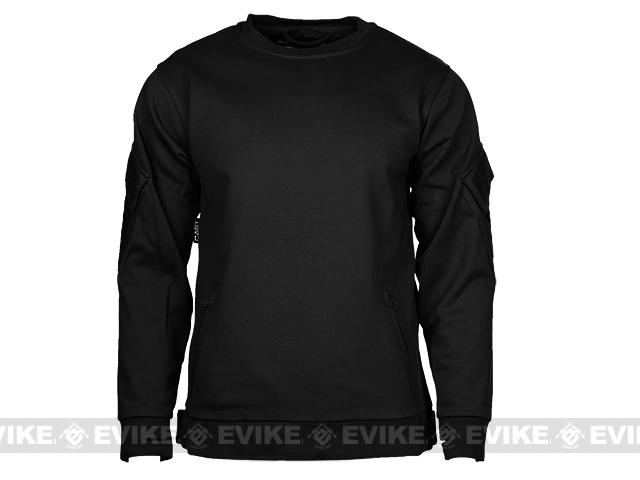 CAST Gear Tactical Pullover Crew Neck Sweatshirt - Black (Size: Large)