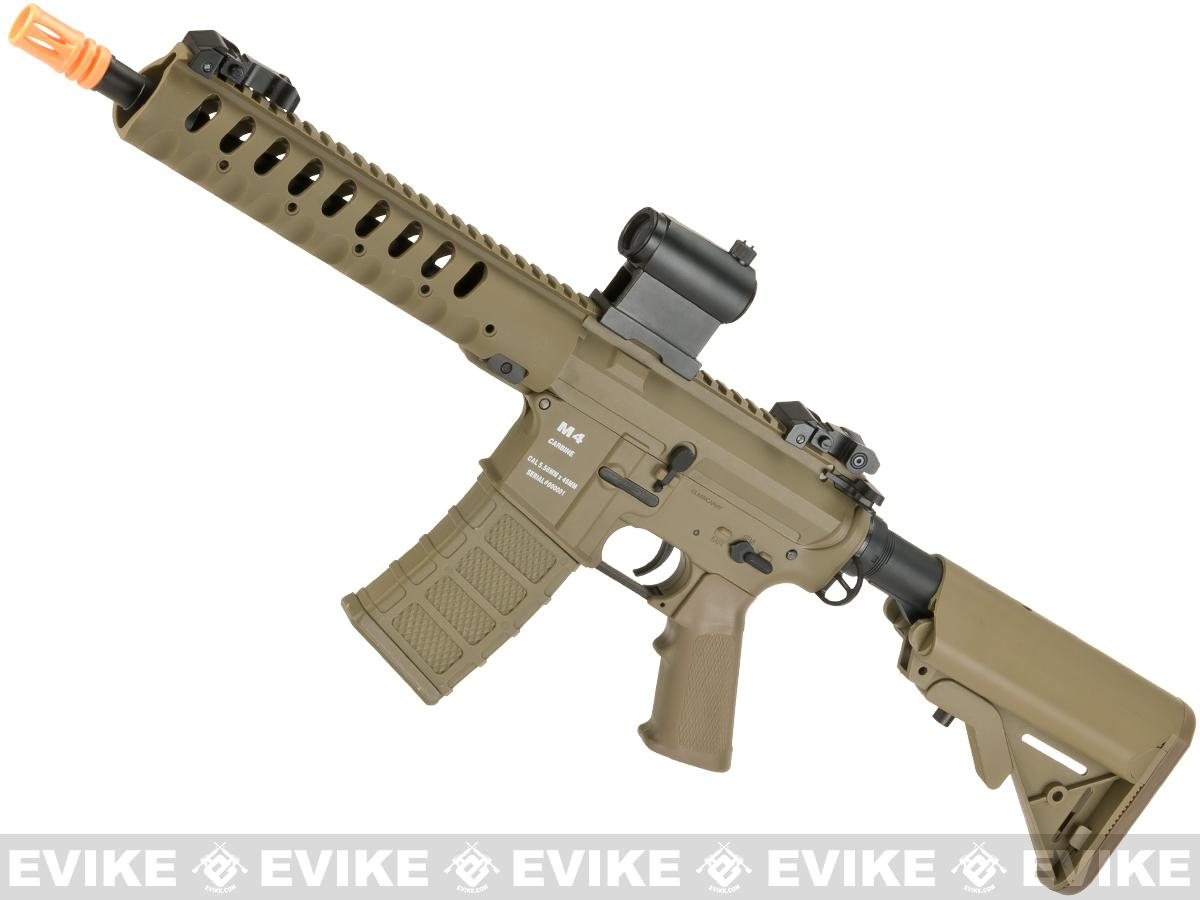 Classic Army Delta 10 Airsoft M4 AEG with Polymer Receiver (Color: Dark Earth)