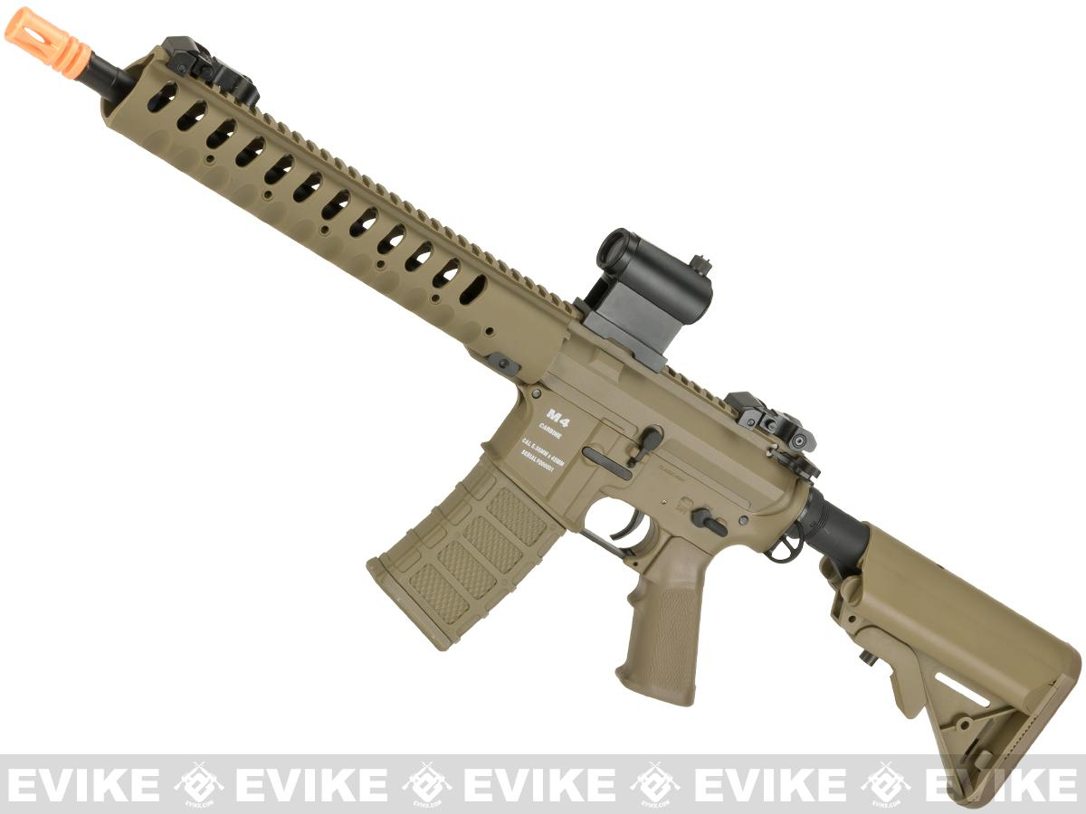 Classic Army Delta 12 Airsoft M4 AEG with Polymer Receiver (Color: Dark Earth)