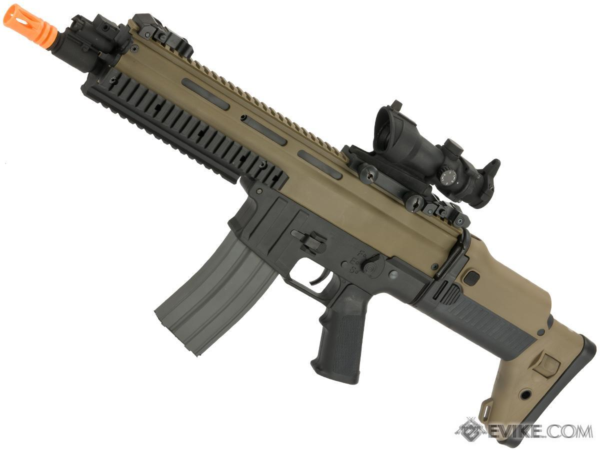 Classic Army Licensed ISSC MK22 Commando CQC Airsoft AEG Rifle (Color: Two-Tone)