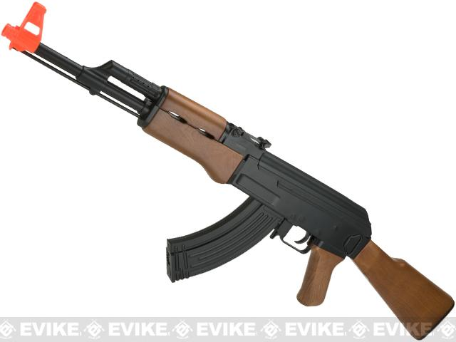 Black November Deal Cyma Cm022 Ak47 Full Size Low Power Airsoft
