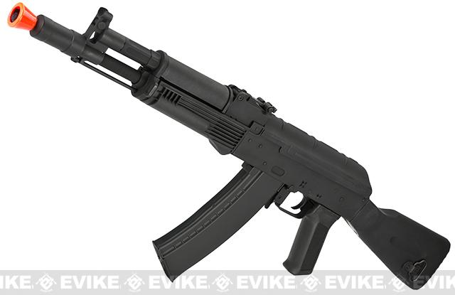 CYMA AK105 Airsoft AEG Rifle w/ Full Synthetic Stock - (Package: Add Battery + Charger)