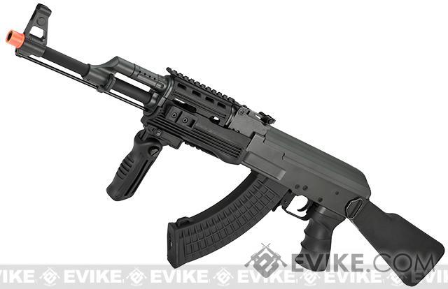 CYMA CM042A Full Metal Tactical AK47 Airsoft AEG Rifle w/ Composite Furniture - (Package: Add Battery + Charger)