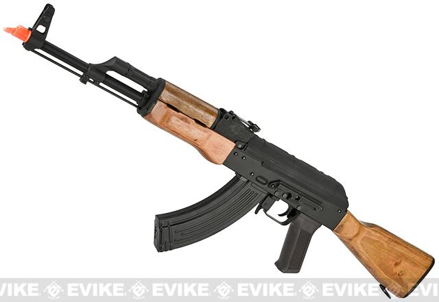 CYMA Full Metal CM048 AKM Airsoft AEG Rifle - Real Wood (Package: Add Battery + Charger)