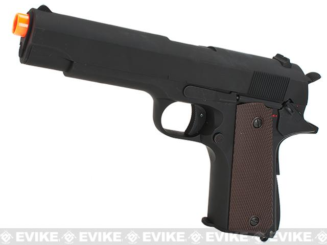 New Version CYMA Heavy Weight 1911 Airsoft AEP Electric Pistol (Metal Gearbox)