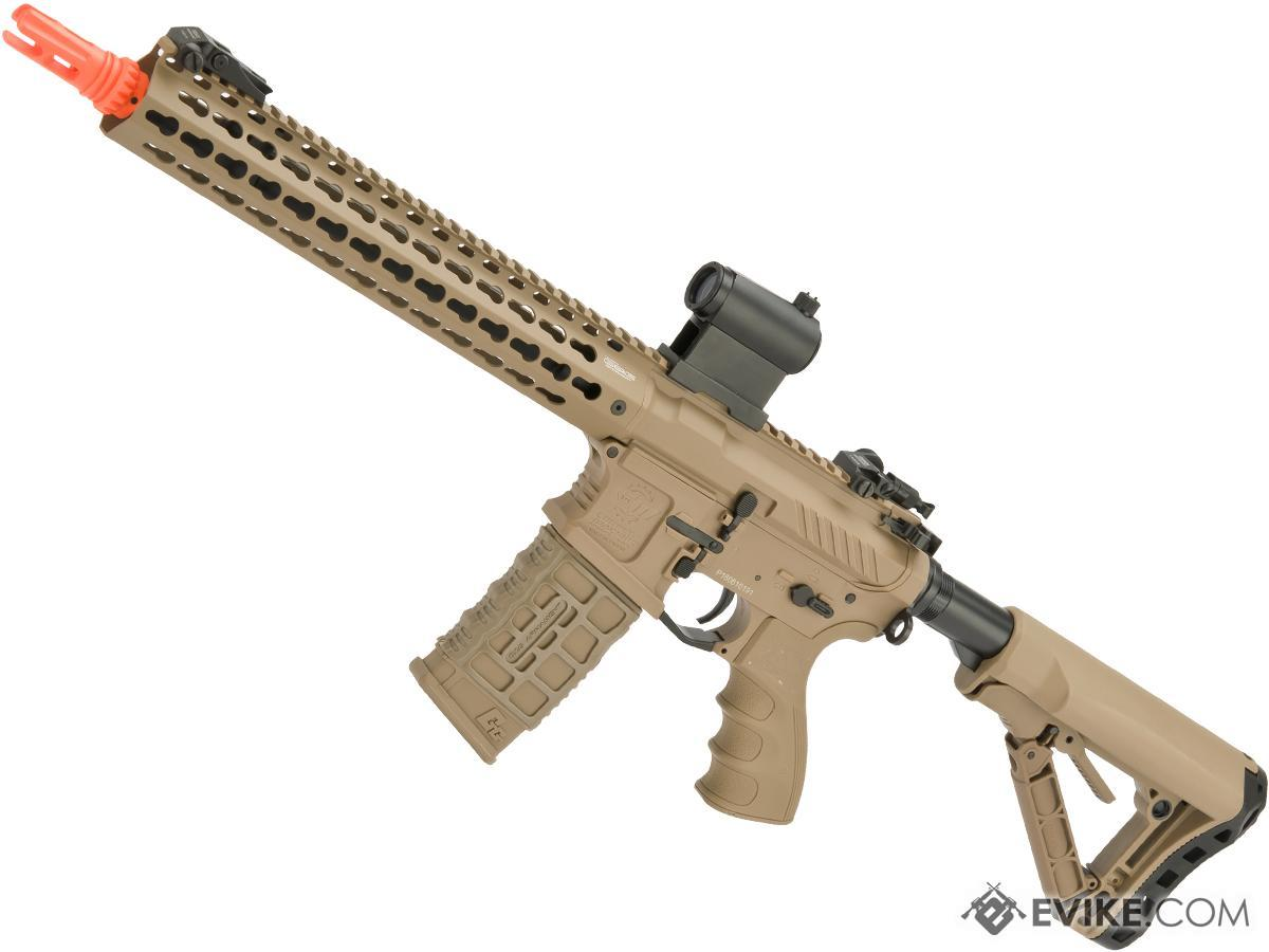 G&G Combat Machine CM16 SRXL Airsoft M4 AEG Rifle with Keymod Rail - 12 (Package: Desert / Gun Only)