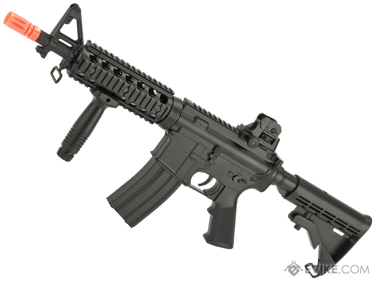 CYMA AEG Mag Compatible Full Size M4 Airsoft Spring Powered Rifle (Model: CQB-R)