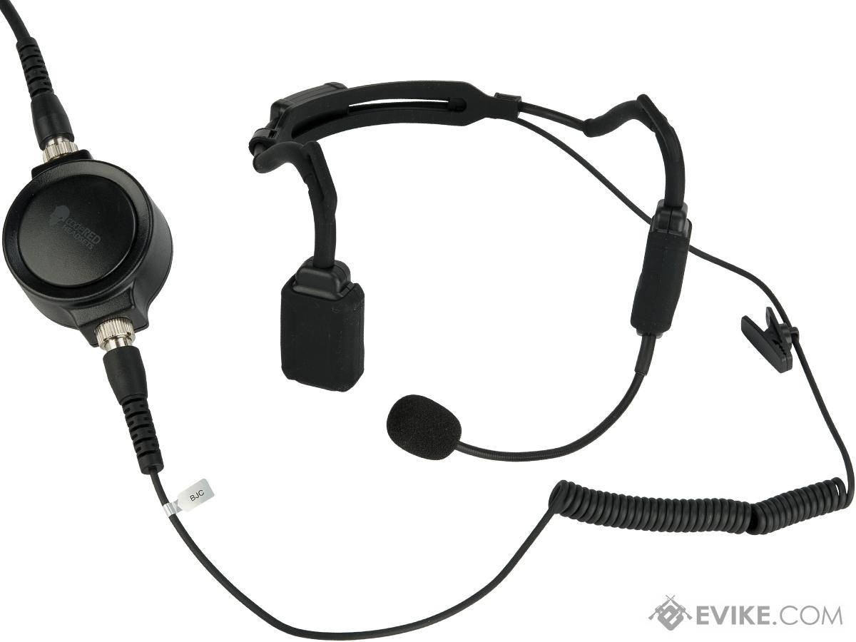 Code Red Headsets PRO Tactical Bone Conduction Headset for Two Way Radios (Radio: Kenwood)