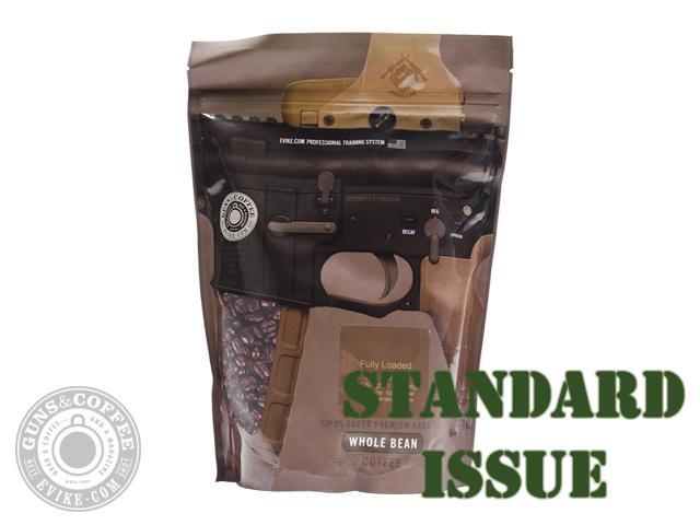 Guns & Coffee ™ Fully Loaded 100% Arabica Premium Coffee (Roast: Standard Issue Medium Roast)