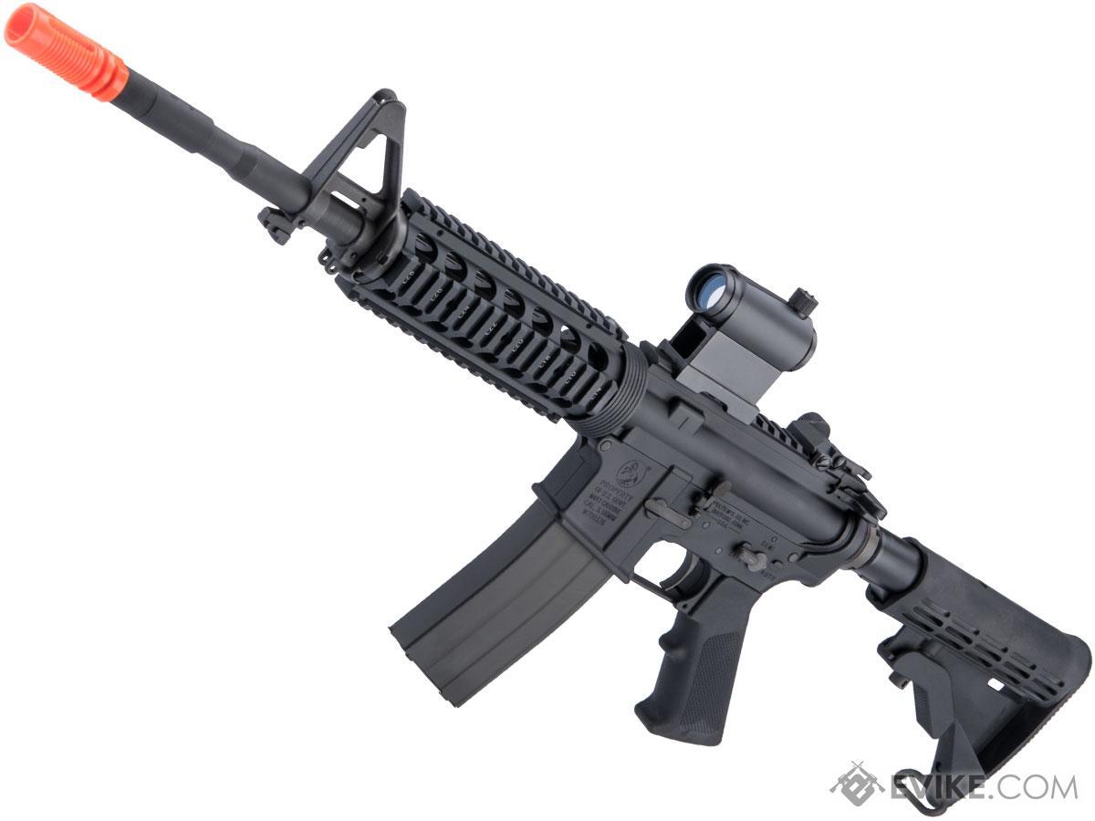 GHK Colt Licensed M4A1 V2 RIS Gas Blowback Airsoft Rifle by Cybergun (Length: 14.5)