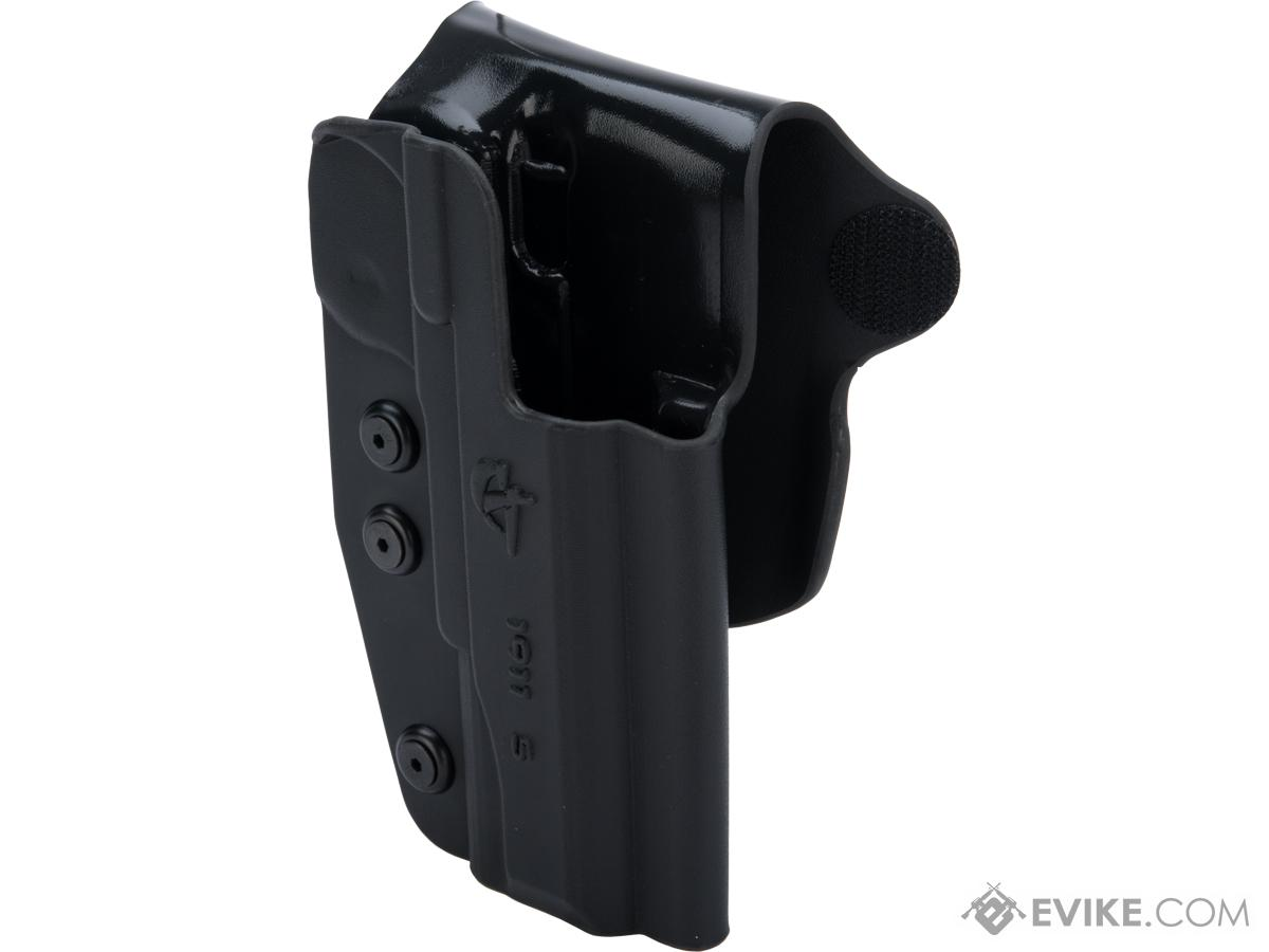 Comp-Tac Paddle OWB Kydex Holster (Model: 1911 - 5 / Right Hand / Black)