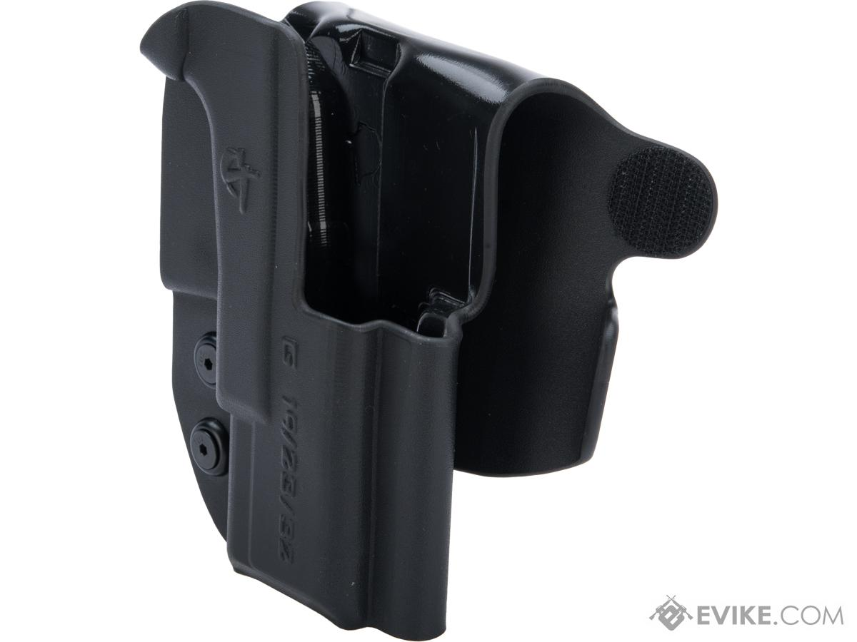 Comp-Tac Paddle OWB Kydex Holster (Model: GLOCK 19, 23, 32 Gen 1-5 / Right Hand / Black)