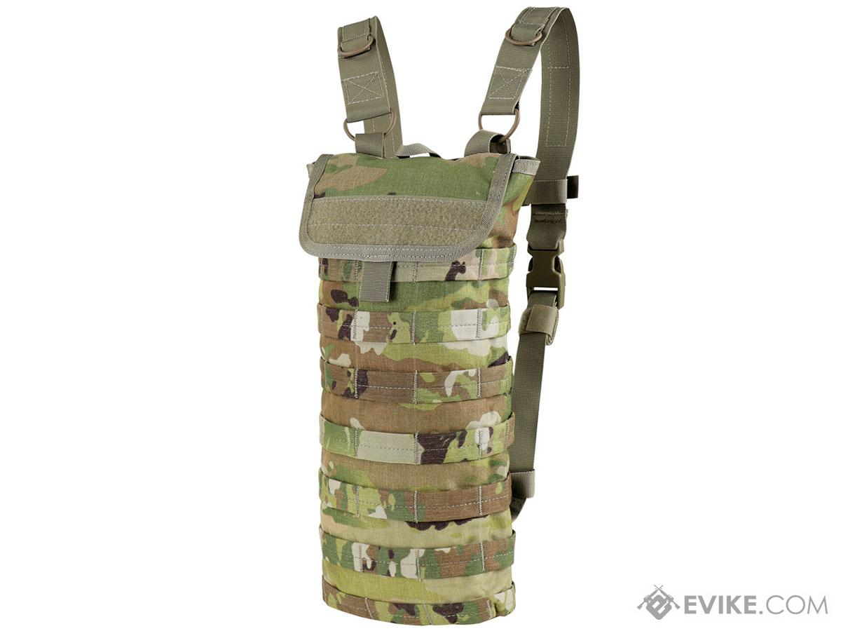 Condor MOLLE Style Water Hydration Carrier (Color: Scorpion OCP / No Bladder)