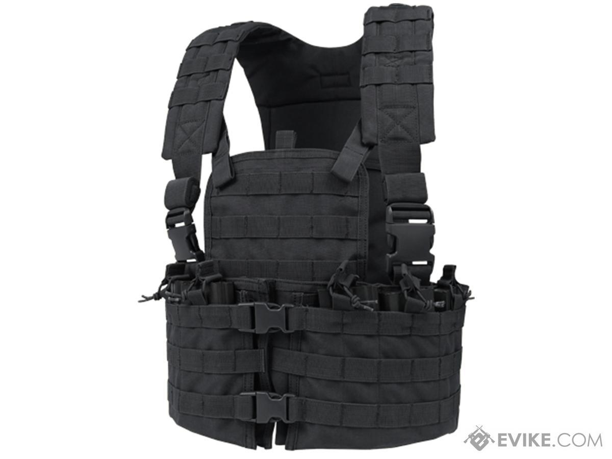 Condor Modular Chest Platform Vest - Black
