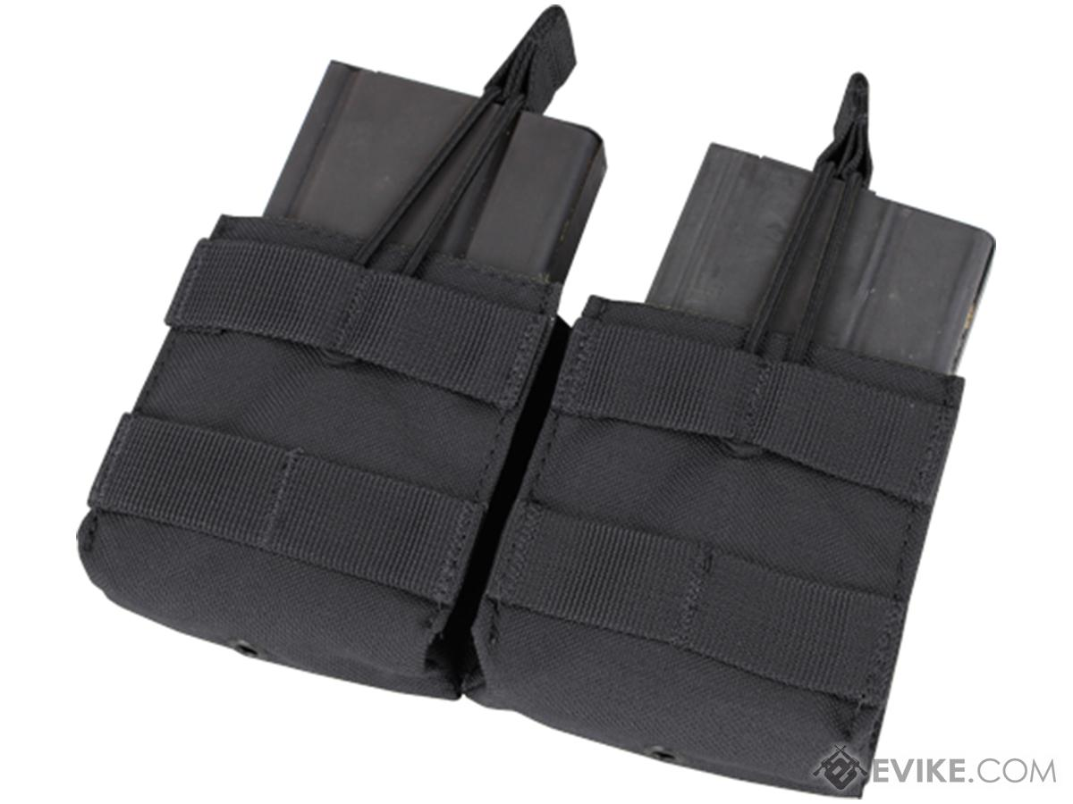 Condor Double M14 Open Top Magazine Pouch (Color: Black)