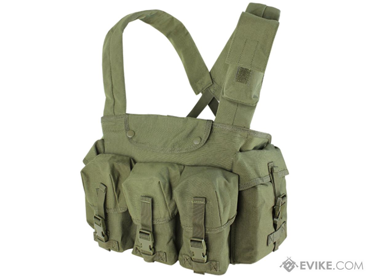 Condor Seven Pocket Tactical Chest Rig (Color: OD Green)
