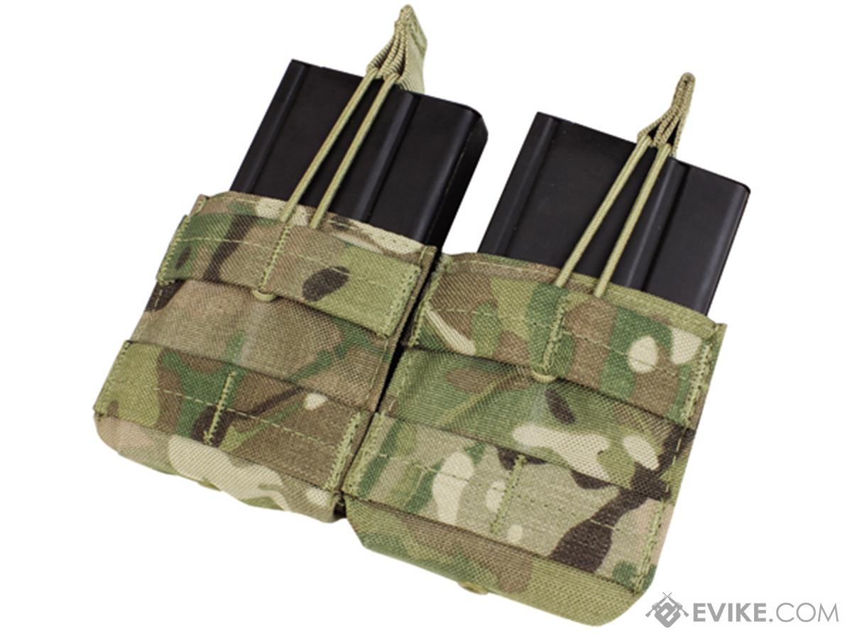 Condor Double M14 Open Top Magazine Pouch (Color: Multicam)