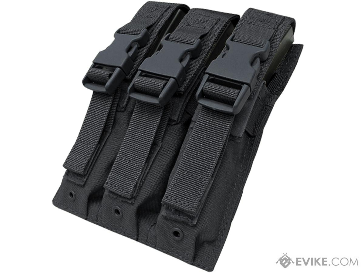 Condor Tactical Triple MP5 / SMG Magazine Pouch (Color: Black)