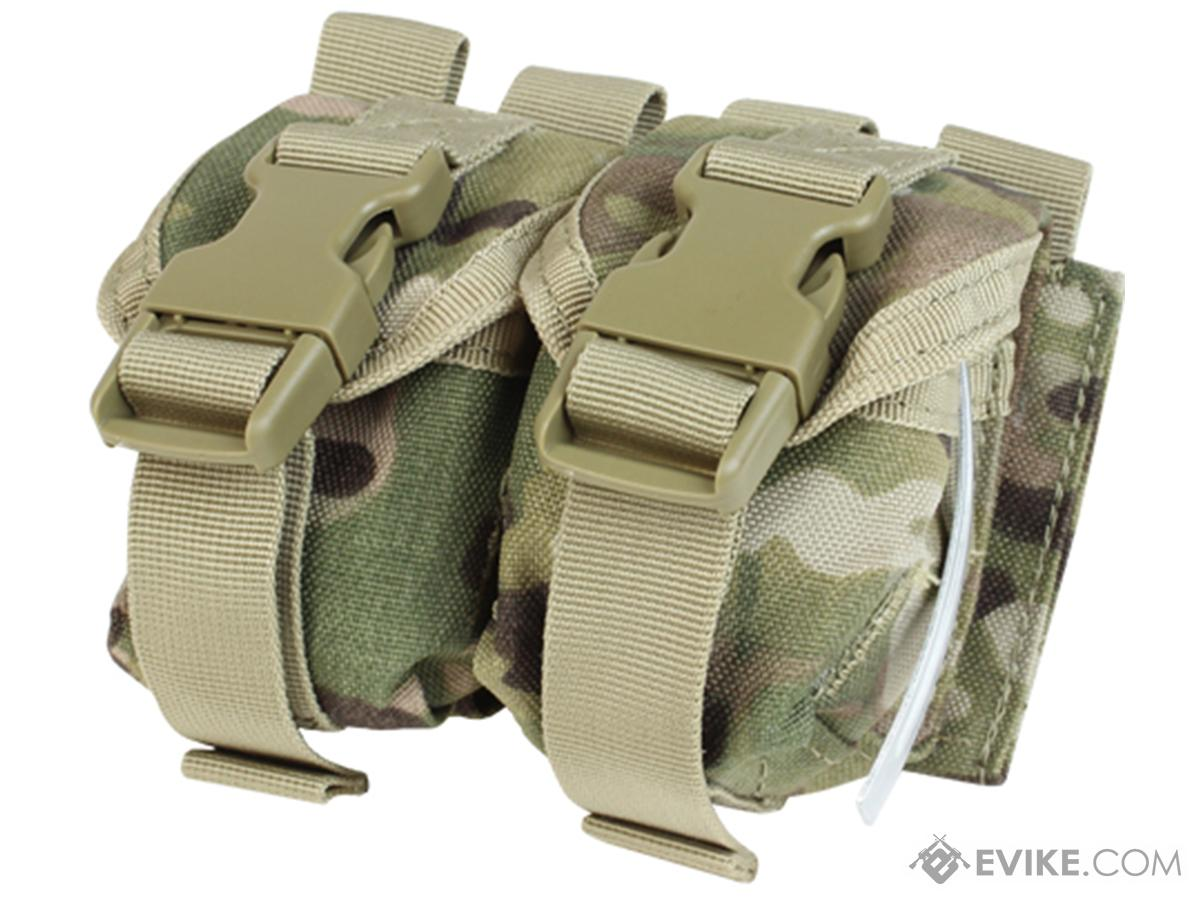 Condor Tactical Double Frag Grenade Pouch (Color: Multicam)