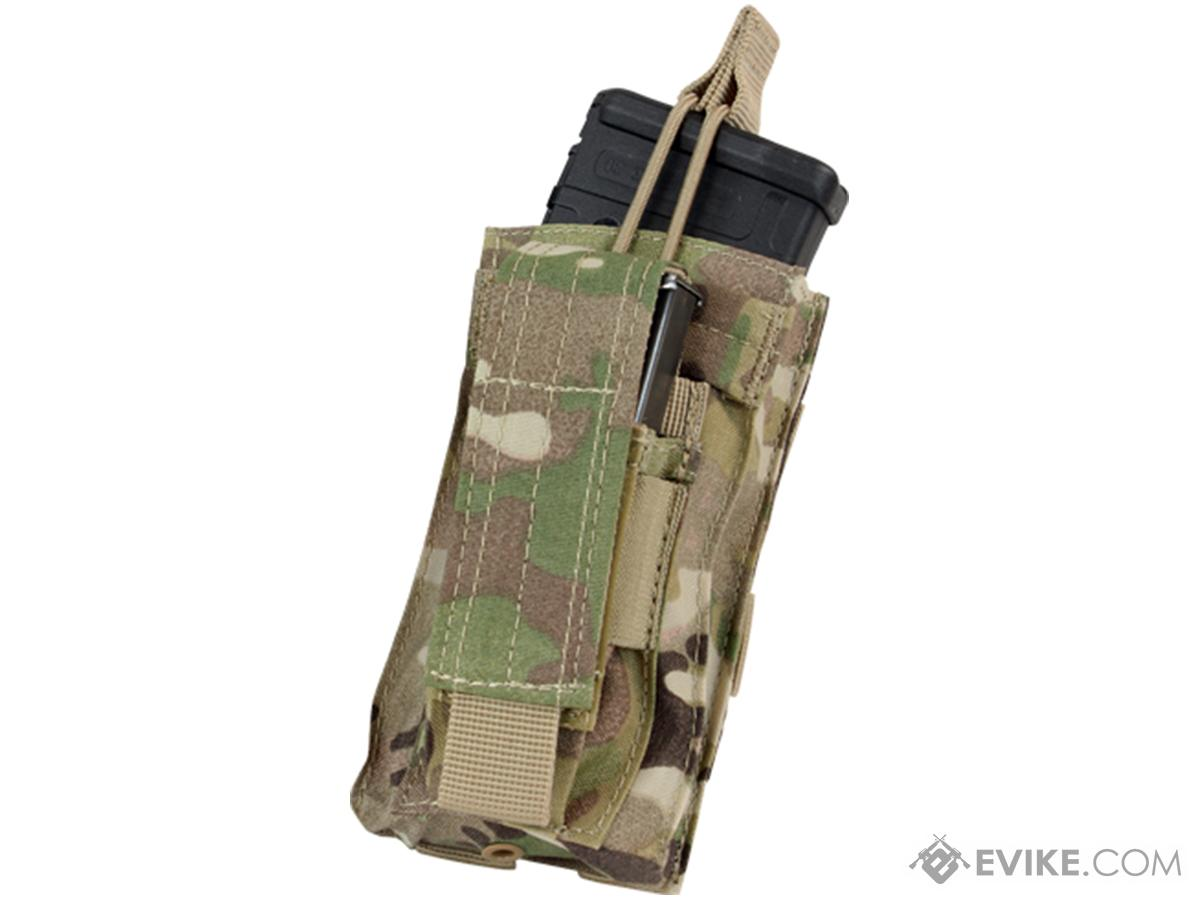 Condor MOLLE Kangaroo M16/M4 Magazine and Pistol Magazine Pouch (Color: Multicam)