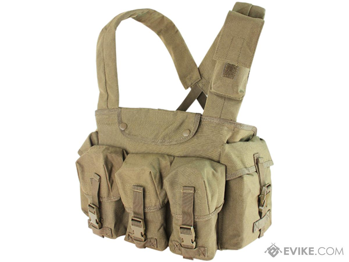 Condor Seven Pocket Tactical Chest Rig (Color: Tan)
