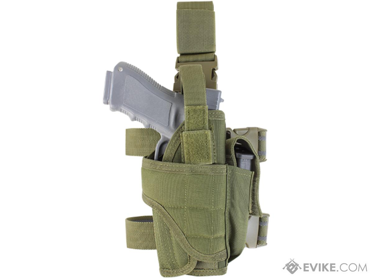 Matrix Tornado Universal Tactical Thigh / Drop Leg Holster (Color: OD Green)