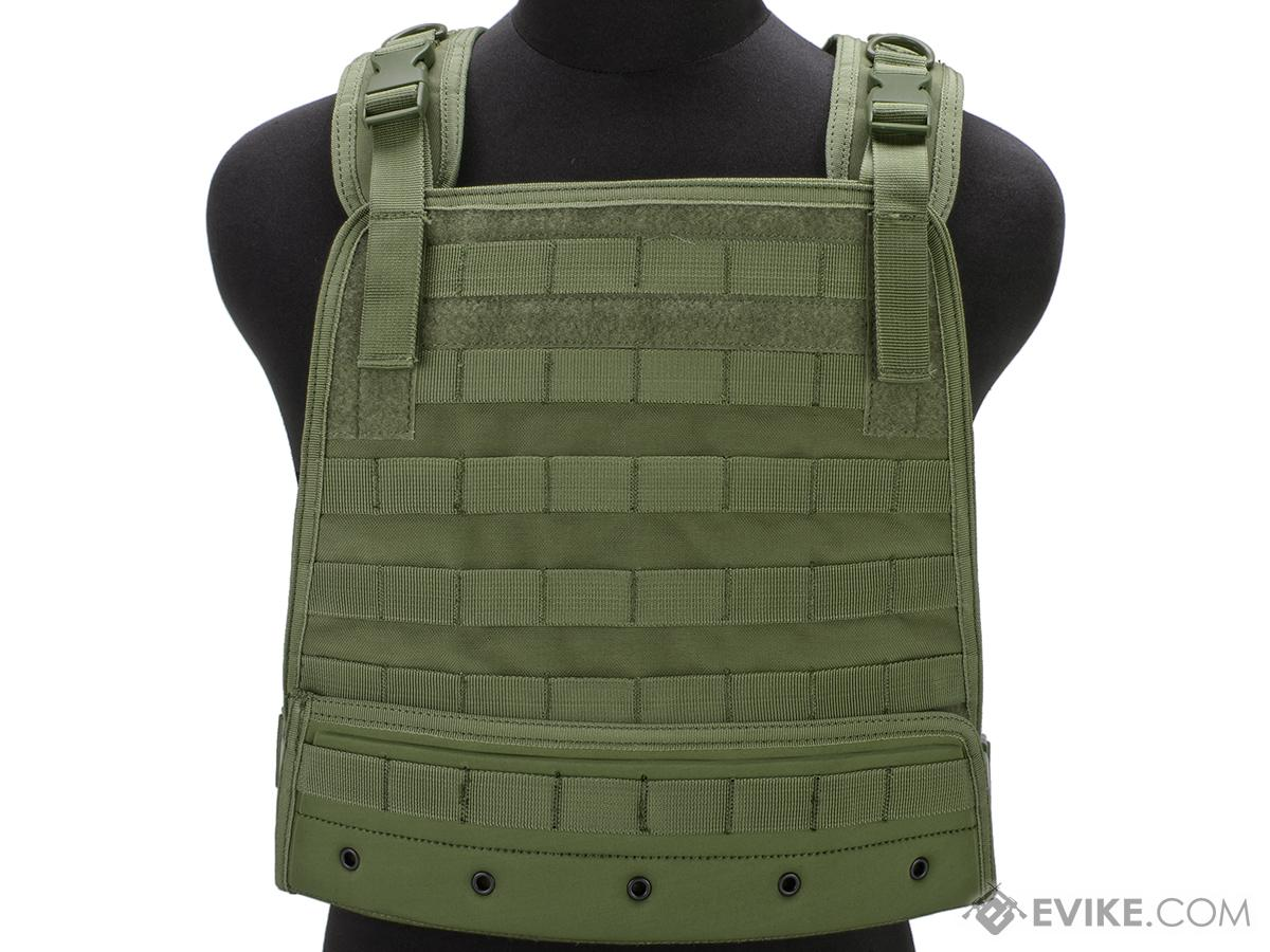 Condor Compact Plate Carrier (Color: OD Green)
