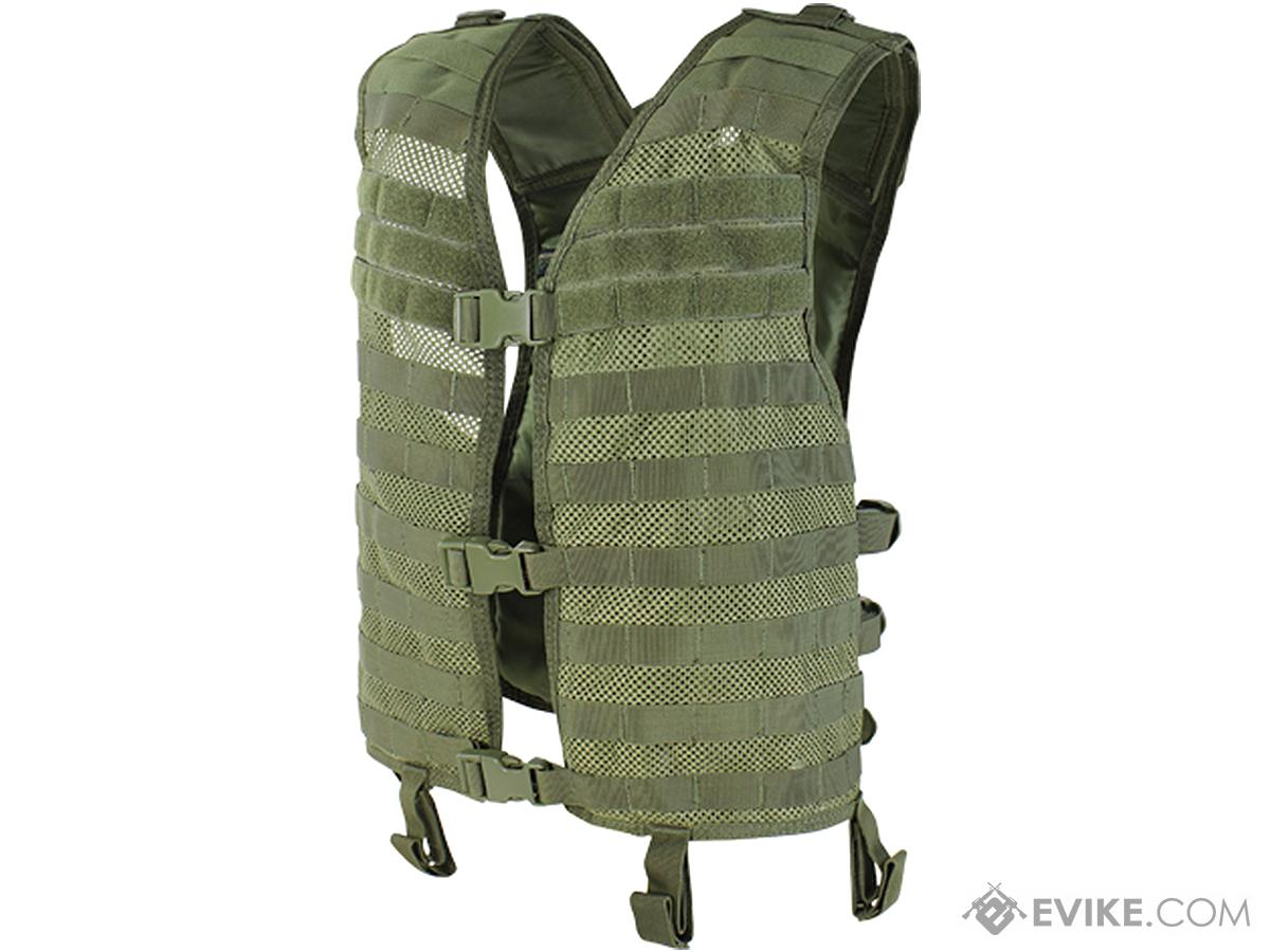 Condor Mesh Tactical Hydration Vest (Color: OD Green)