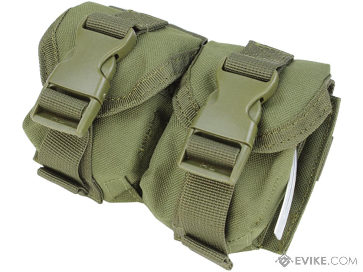 Condor Tactical Double Frag Grenade Pouch (Color: OD Green)
