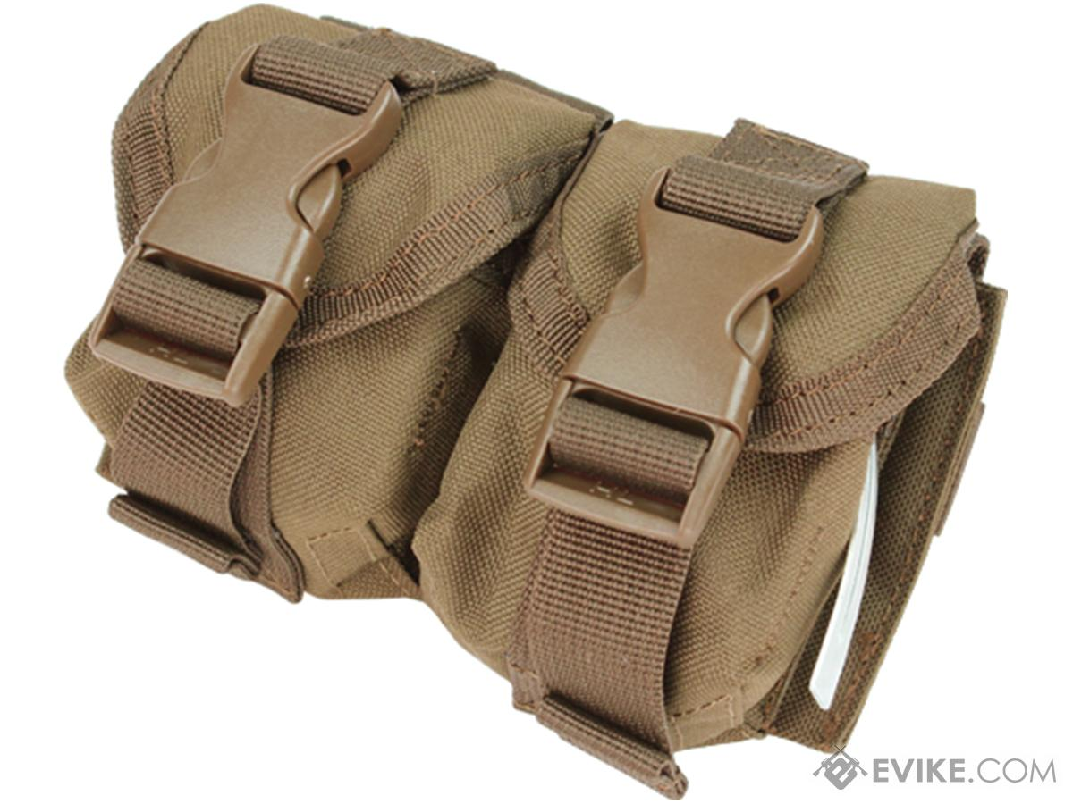 Condor Tactical Double Frag Grenade Pouch (Color: Tan)