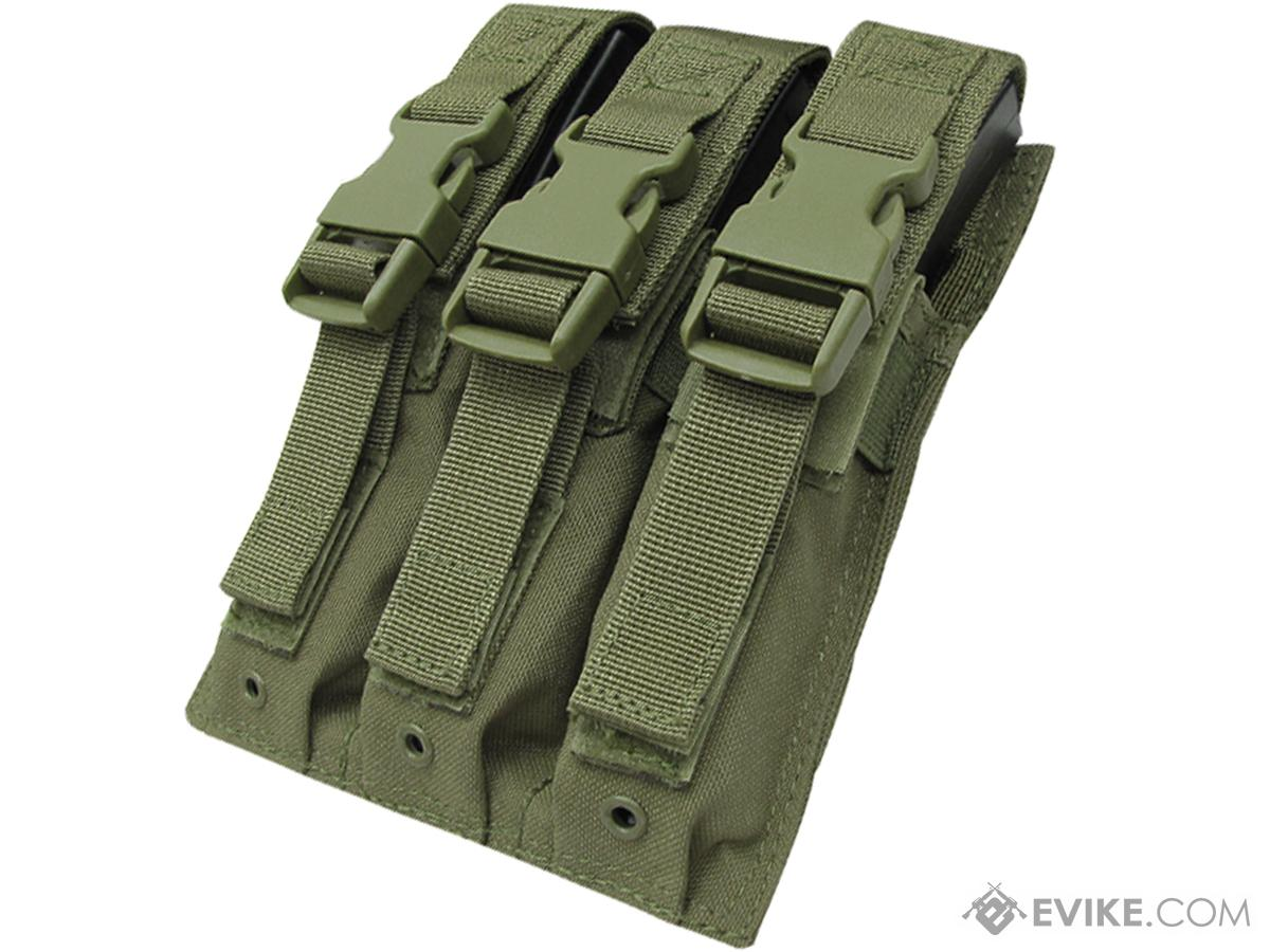 Condor Tactical Triple MP5 / SMG Magazine Pouch (Color: OD Green)