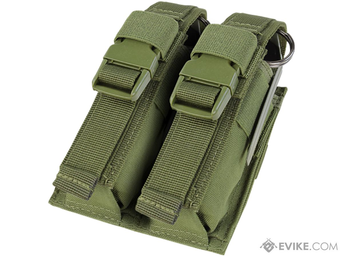 Condor Tactical Double Flashbang / Large Grenade Pouch (Color: OD Green)