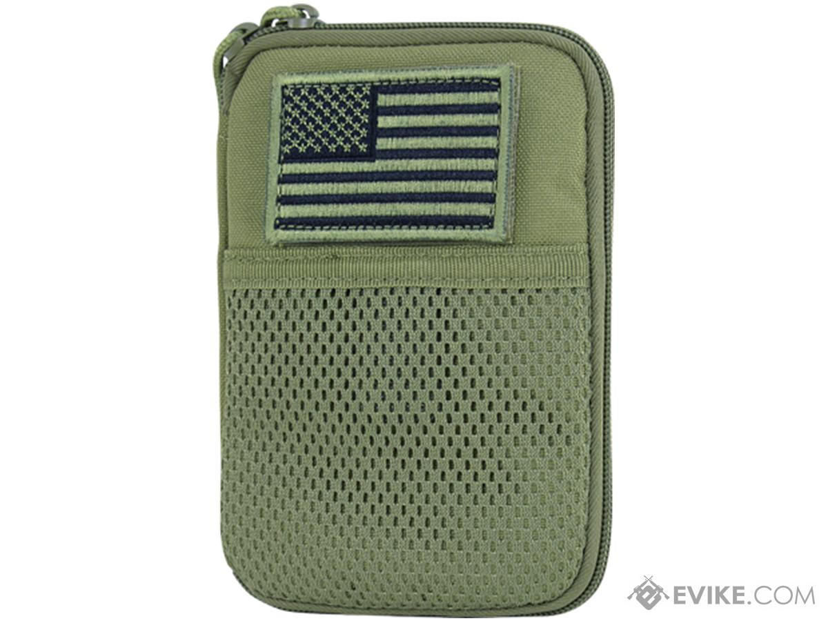 Condor Tactical Pocket Pouch w/ US Flag Patch (Color: OD Green)
