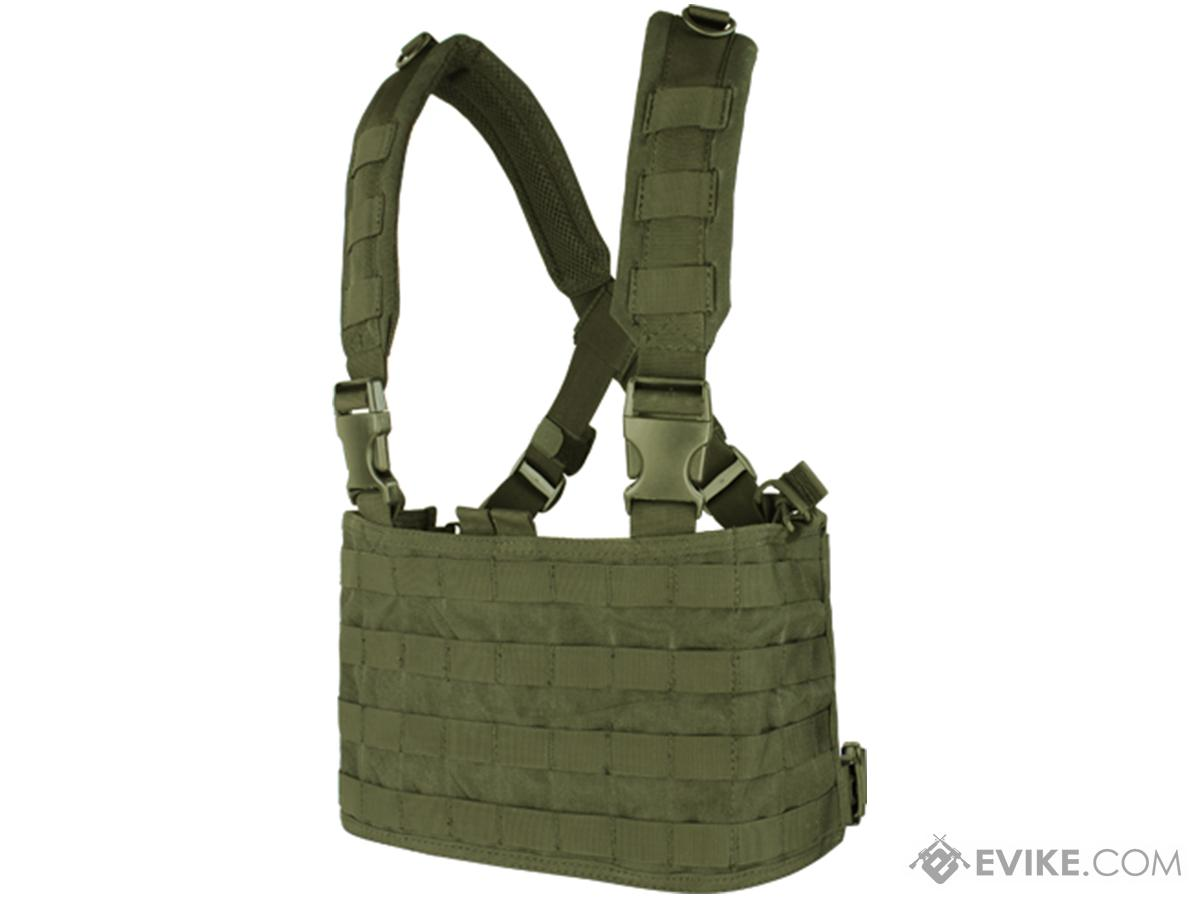 Condor Gen.4 Tactical MOLLE OPS Chest Rig (Color: OD Green)