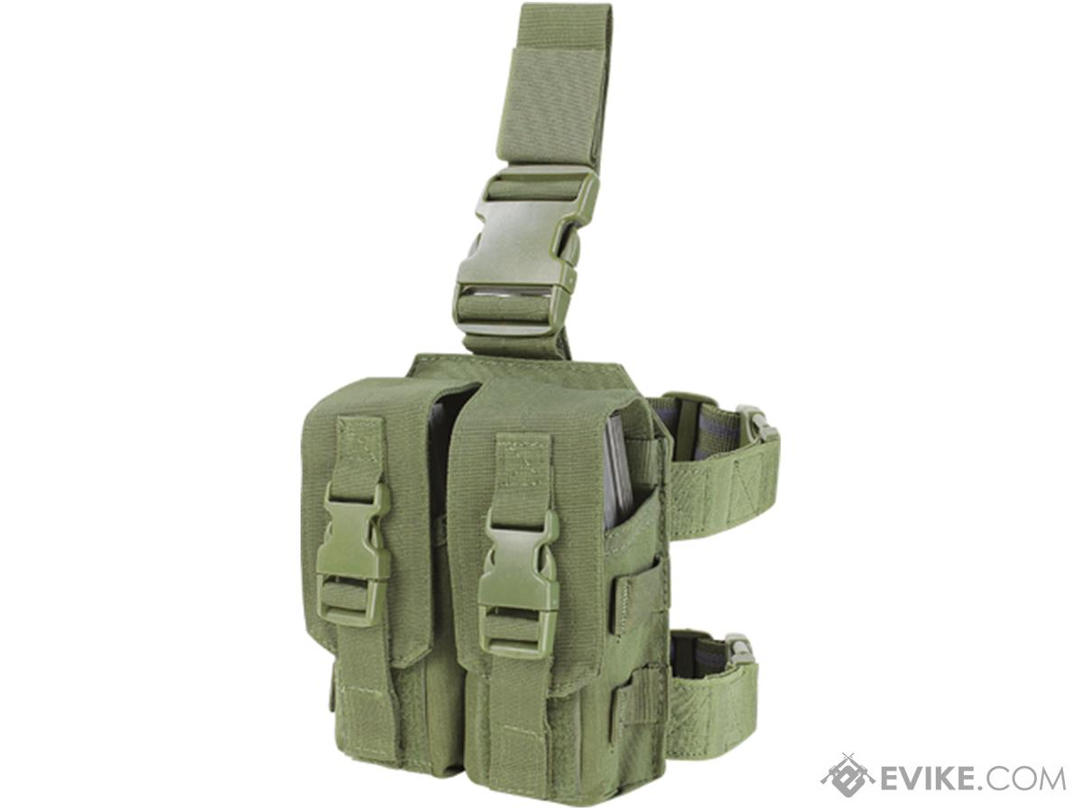 Condor Drop Leg M4 Mag Pouch (Color: OD Green)