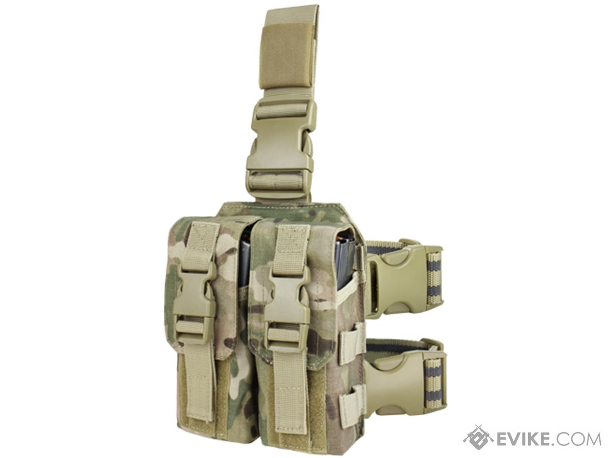 Condor Drop Leg M4 Mag Pouch (Color: Multicam)