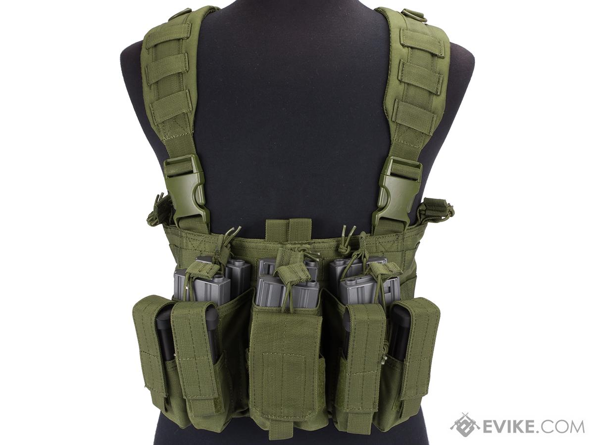 Condor Gen 5 Tactical MOLLE Recon Chest Rig (Color: OD Green)