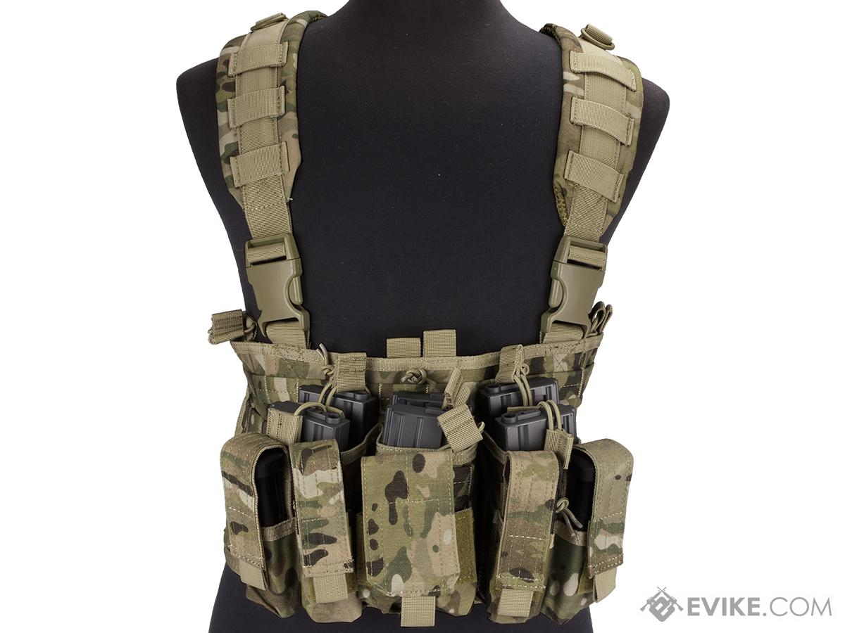 Condor Gen 5 Tactical MOLLE Recon Chest Rig (Color: Multicam)