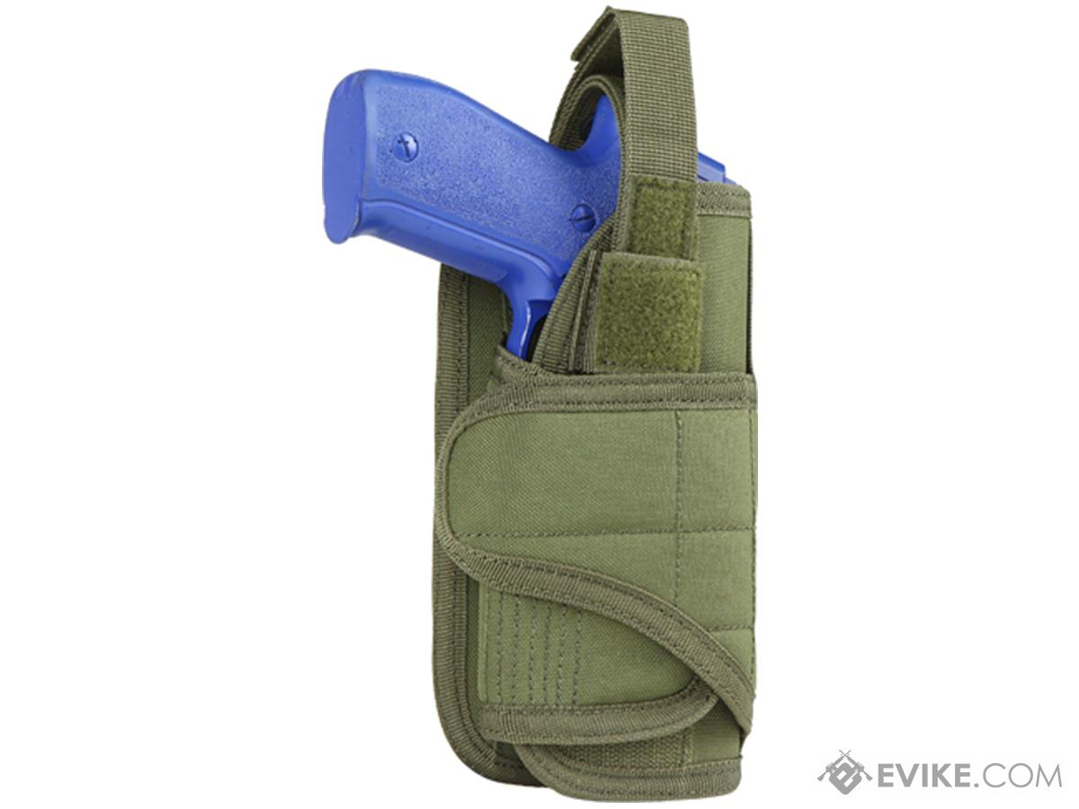 Condor Vertical MOLLE Ready Holster (Color: OD Green)