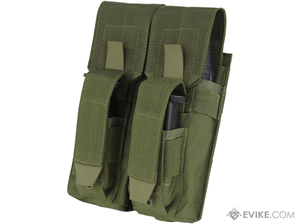 Condor Double AK Kangaroo Magazine Pouch (Color: OD Green)