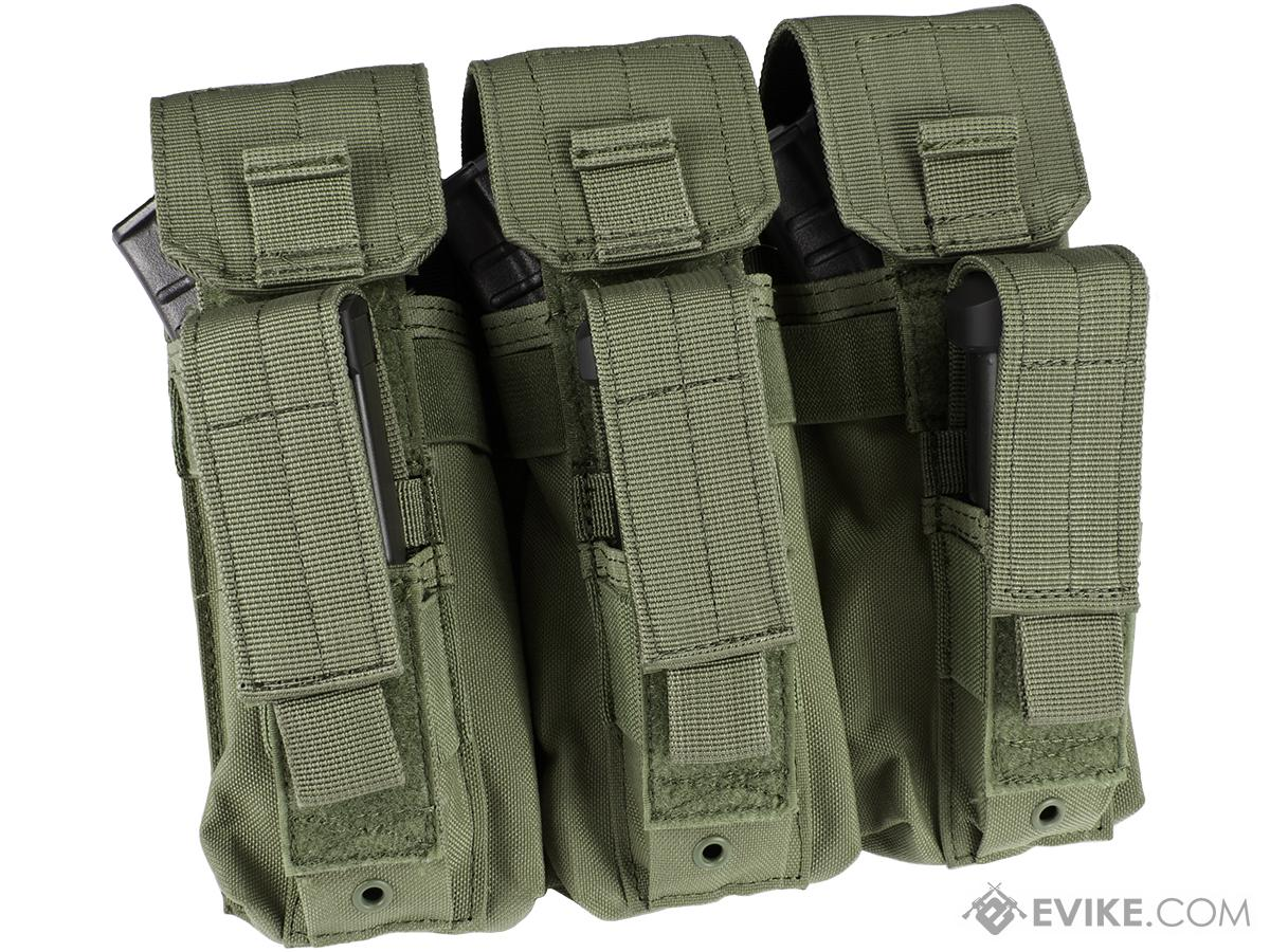 Condor Triple AK Kangaroo Magazine Pouch (Color: OD Green)