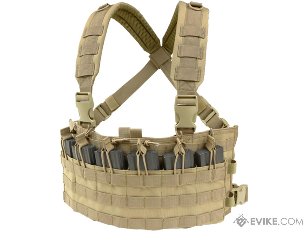 Condor Rapid Assault Chest Rig (Color: Tan)
